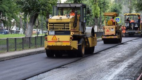 В Саратове восстановлено почти 15 тыс. кв. метров асфальтового покрытия после ремонта теплотрасс