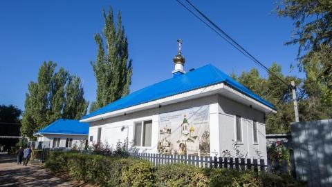 Жители поселка Приволжский протестуют против строительства храма рядом со школой