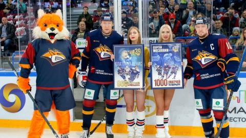 Саратовский хоккеист провел юбилейный матч за обладателя Кубка европейских чемпионов