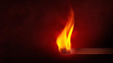 Погибший ночью на пожаре мог быть его виновником
