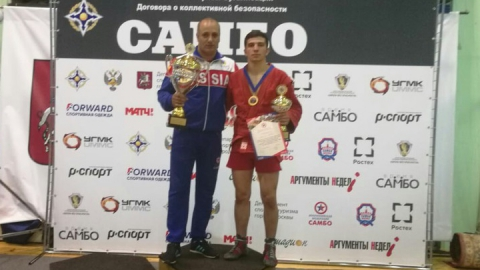 Самбист из Турков стал чемпионом мира