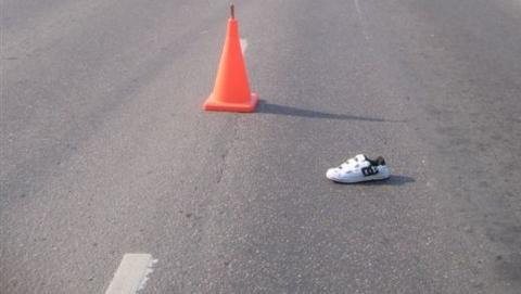 Водитель на «Датсун ми-До» сбил на «зебре» девочку
