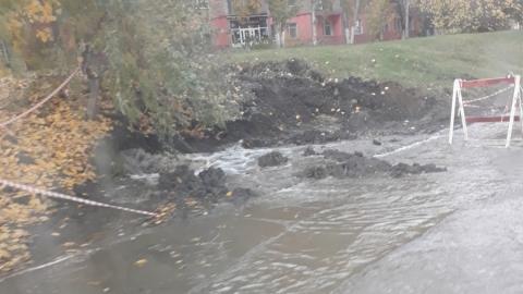 В Ленинском районе из-за аварии отключена вода на 14 улицах
