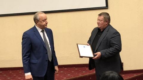 Николаю Панкову вручили благодарность за помощь в выделении земель Минобороны