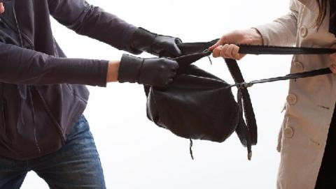 Грабитель выхватил из рук женщины сумочку и убежал