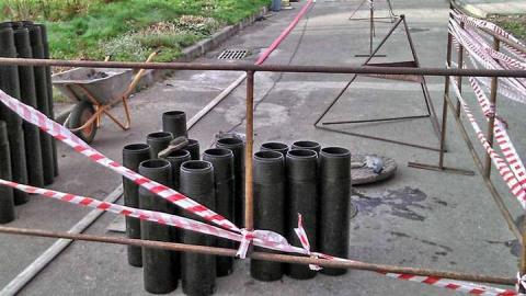 В Саратове для ремонта труб впервые применили новую технологию