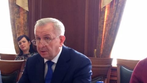 Председатель Саратовской городской думы поздравил работников пассажирскоо автотранспорта