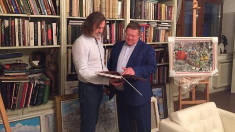 Никас Сафронов посвятил пост в Инстаграм Николаю Панкову