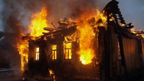 Cгорели два дома
