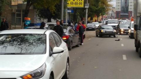 Четыре легковушки столкнулись на улице Чапаева
