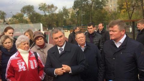 Панков: Жители Комсомольского поселка знают, что Володин держит слово