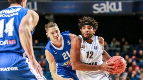 Саратовские баскетболисты в гостях победили эстонских