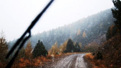 На Саратов надвигается снегопад