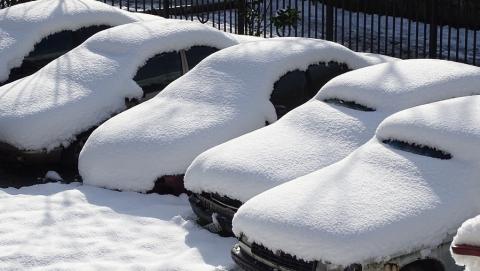 Первый снег в Саратове. За два часа произошло 14 аварий