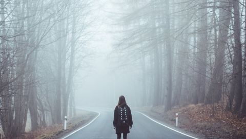 ГИБДД предупреждает о тумане и гололедице