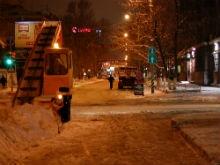 Олег Грищенко:  Снег из Саратова мы вывозим полностью