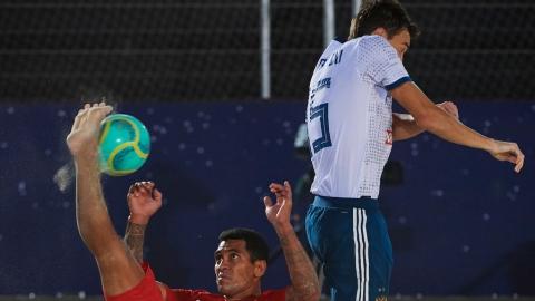 Два игрока «Дельты» сыграли в первом туре Межконтинентального кубка по пляжному футболу