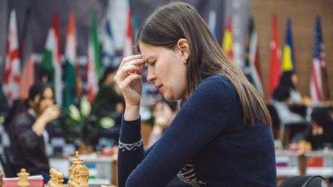 Наталья Погонина добилась тай-брейка в 1/16 чемпионата мира