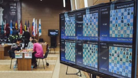 Наталья Погонина - в 1/8 чемпионата мира