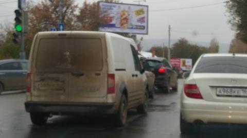 Массовая авария спровоцировала пробку на Соколовой