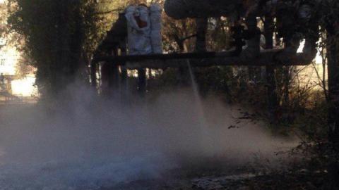 Саратовцы сообщают о коммунальной аварии на Ипподромной