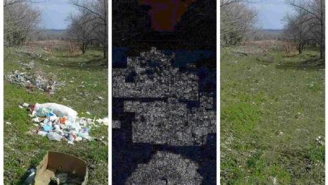 Чиновники отфотошопили свалку для отчета о ее ликвидации