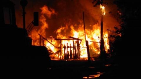 Пожар в частном доме унес жизнь 51-летнего мужчины