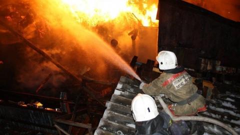 В Балакове спасли ребенка из огня