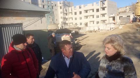 Николай Панков строителям в Елшанке: У вас есть все необходимое, чтобы «росли» блок-секции