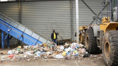 В области зафиксировано сезонное снижение объема мусора