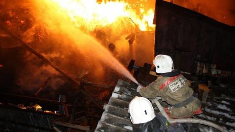72-летний мужчина погиб на пожаре