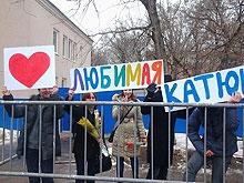 8 марта старшеклассник провел митинг под окнами возлюбленной