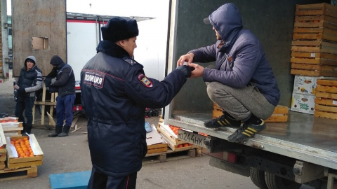 Полицейские поймали четырех нелегалов-гастабайтеров