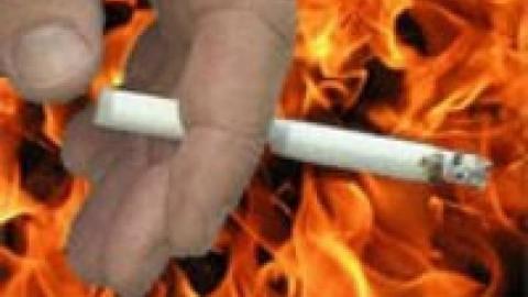 Пожилой курильщик погиб в собственном доме