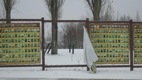 В Парке Победы сорваны баннеры с фотографиями ветеранов