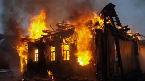 На пожаре в частном доме погиб мужчина