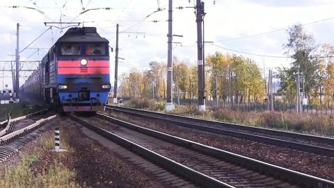 Женщина прыгнула под товарный поезд