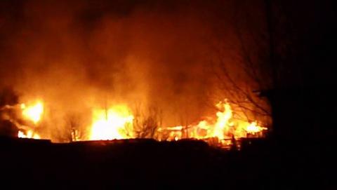 Пожарные эвакуировали пятерых саратовцев