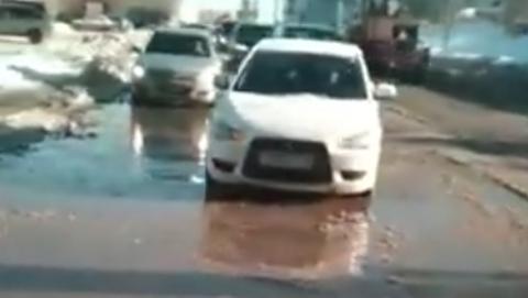 Саратовцы жалуются на коммунальный потоп в районе Антонова