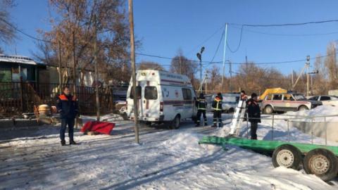 Мальчик утонул в Волге после того, как под его отцом провалился лед
