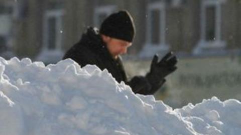 Сегодня Саратов накроет сильный снегопад