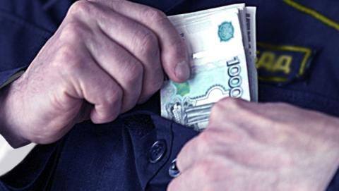 Начальник отдела ГИБДД получил срок за взятку