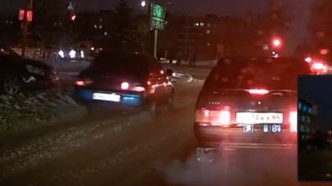 Хамское поведение трех водителей попало на видео