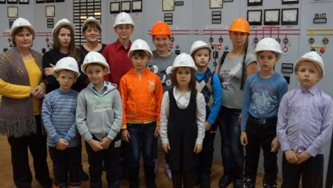 Для детей из реабилитационного центра «Возвращение» провели экскурсию по Саратовской ГРЭС