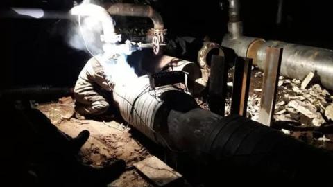 Энергетики проведут профилактику теплотрассы