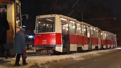 Не ходят четыре трамвайных маршрута