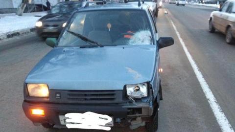 "Утром водитель сбил женщину у ТЦ ""Дружба"""