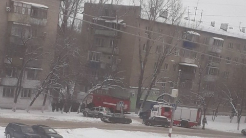 Из-за невыключенного утюга загорелась квартира в Летном городке Энгельса