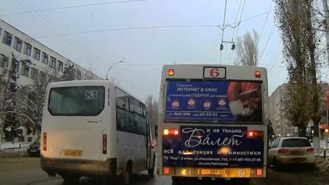 Хамское поведение водителя зафиксировал видеорегистратор