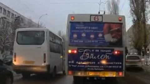 Автохам за рулем автобуса попал под служебную проверку